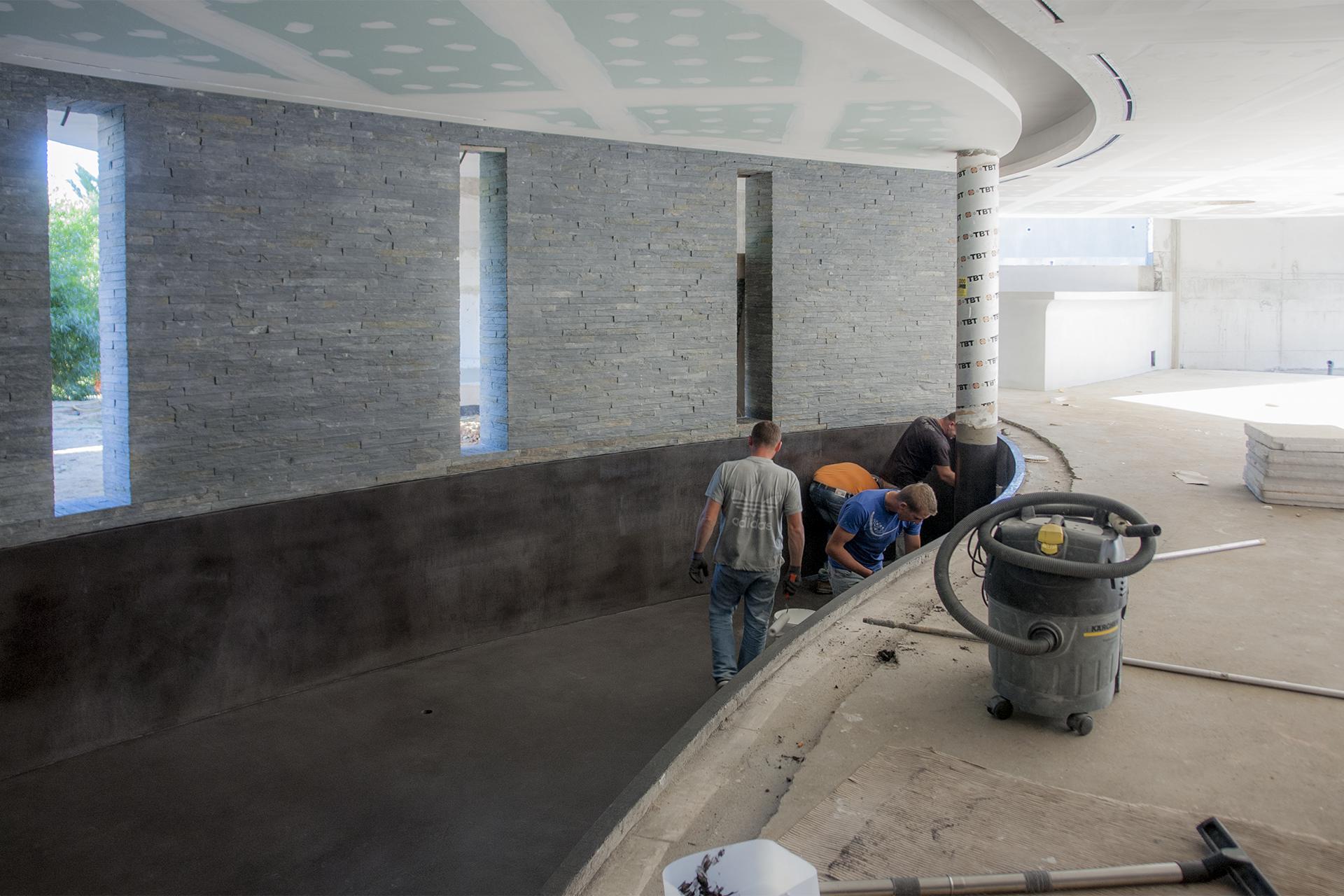 Urbidynamic Micro-cement Pool